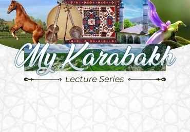 """Online Session of """"My Karabakh"""" Lecture Series with Dr. Farhad Jabbarov"""