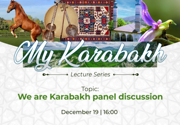 """The Next Online Lecture of """"My Karabakh"""" Series"""
