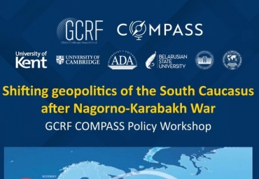 Joint discussion on Karabakh with University of Kent and University of Cambridge