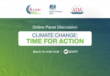 Online Panel Discussion: Climate Change: Time For Action