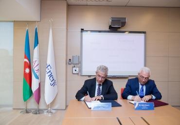 """Memorandum of Understanding (MOU) with """"Azerenergy"""" JSC"""