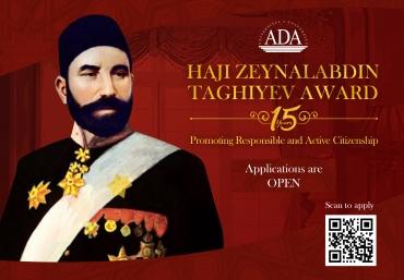 Call for Applications: Haji Zeynalabdin Taghiyev Award 2021