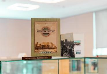 Azerbaijan Railways Donated New Books to ADA Library